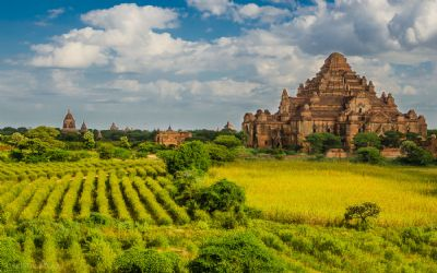 Bagan the new touristic destination