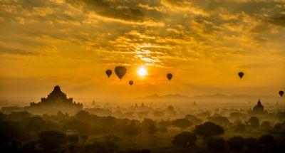 Why Bagan is so popular ballooning destination?